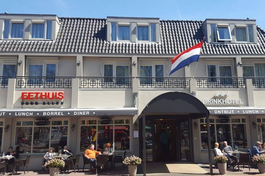 Brinkhotel Zuidlaren - Fietwandelvakantie.nl