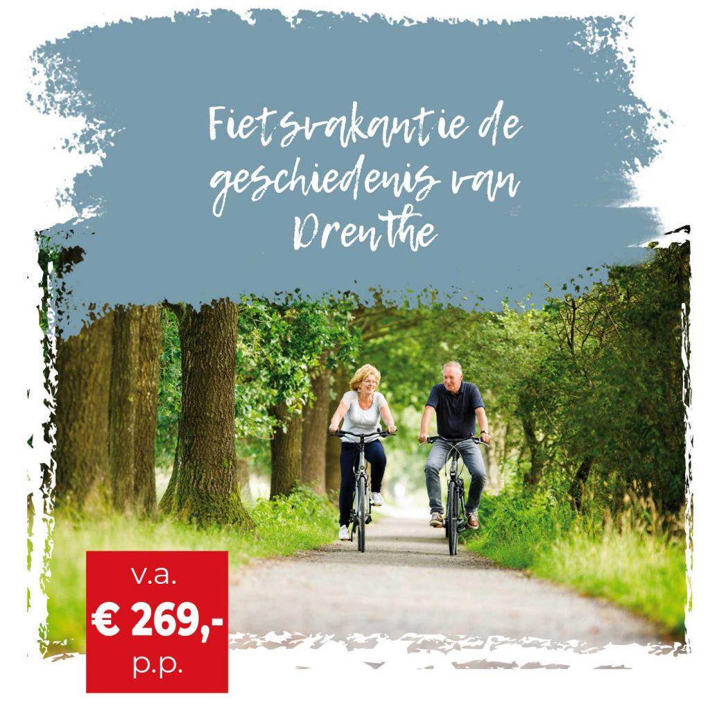 Individuele fietsvakantie Drenthe - Fietswandelvakantie.nl