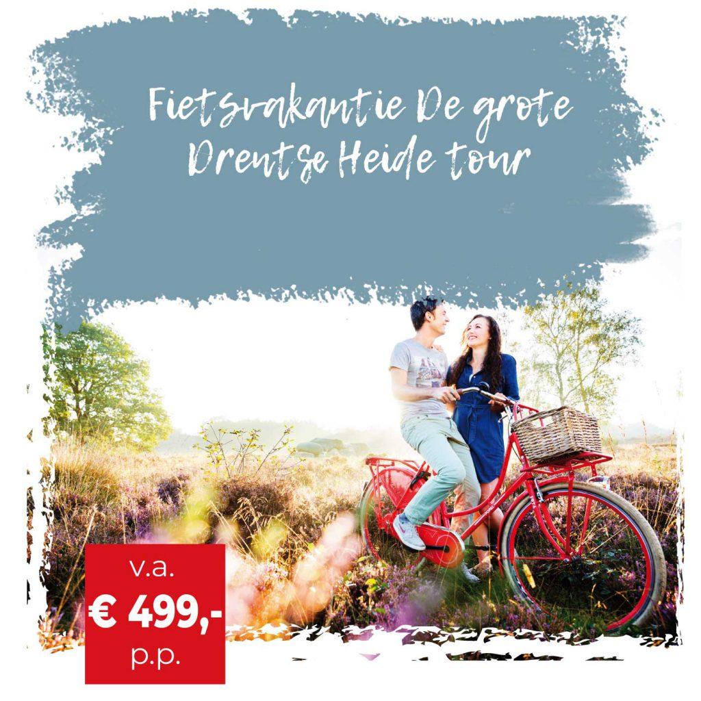 Ontdek Drenthe in het bijzonder - Fietswandelvakantie.nl