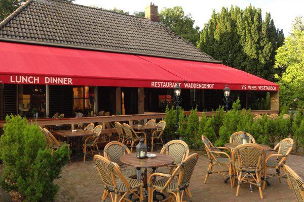 Terras Hotel Waddenweelde Pieterburen